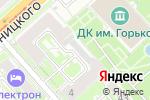 Схема проезда до компании Белорусский трикотаж в Новосибирске