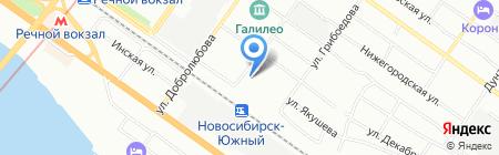 ТехСистемы на карте Новосибирска