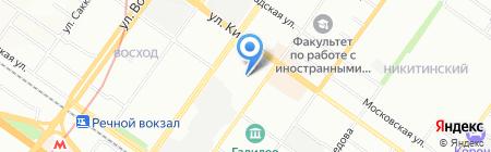 Ситилит-В на карте Новосибирска