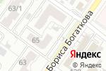 Схема проезда до компании Триокна в Новосибирске