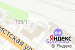 Схема проезда до компании Новое время в Новосибирске