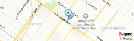 Дешевая аптека на карте Новосибирска