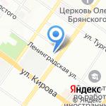 Полина на карте Новосибирска