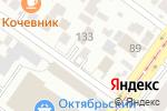 Схема проезда до компании Сибирский Бизнес Парк в Новосибирске