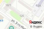 Схема проезда до компании ИНТЕРАКТИВНЫЕ ТЕХНОЛОГИИ в Новосибирске