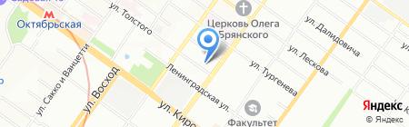 ReTravel на карте Новосибирска