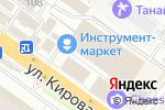 Схема проезда до компании Строительная Россия в Новосибирске