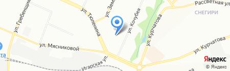 Детский сад №14 на карте Новосибирска