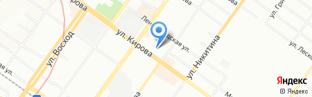 АврорА на карте Новосибирска