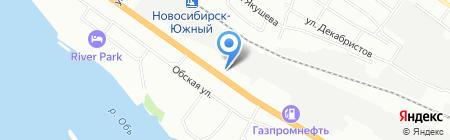 PULSEAuto на карте Новосибирска