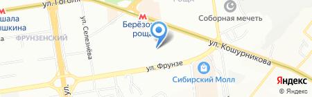 Детский сад №435 на карте Новосибирска