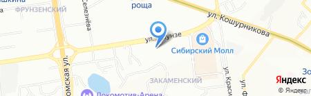СибТехПром на карте Новосибирска