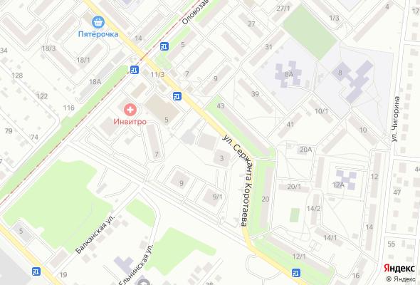 жилой комплекс На Коротаева