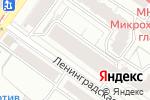 Схема проезда до компании Сибэлкон в Новосибирске