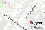 Схема проезда до компании Сибирский рай в Новосибирске