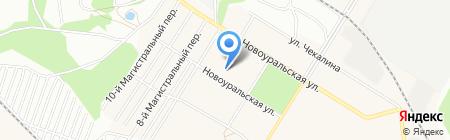 Детский сад №353 на карте Новосибирска