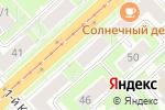 Схема проезда до компании Сильверадо в Новосибирске