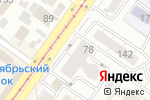 Схема проезда до компании Крепеж Инструмент в Новосибирске