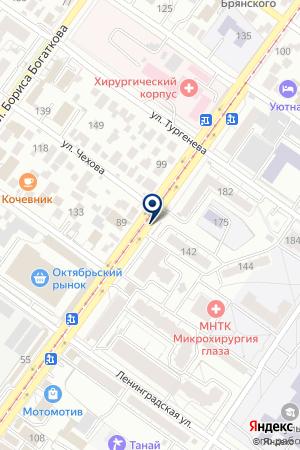 ТРАНСПОРТНО-ЭКСПЕДИЦИОННАЯ ФИРМА ГК ЭРТ на карте Новосибирска