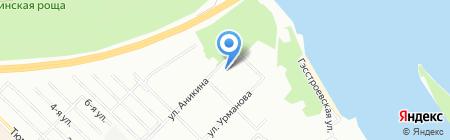 Детская школа искусств №24 на карте Новосибирска