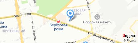 ПЛАСТиКО на карте Новосибирска