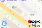 Схема проезда до компании Планета. Одежда. Обувь в Новосибирске