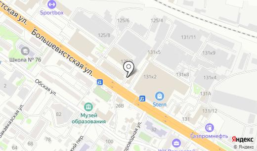 Woksy.ru. Схема проезда в Новосибирске