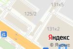 Схема проезда до компании ЕВРО Текстиль в Новосибирске