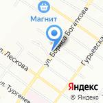 АВТОSHARM на карте Новосибирска