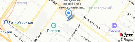 Уйгурская кухня на карте Новосибирска