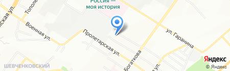 Adelante на карте Новосибирска