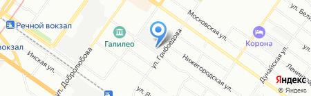Банкомат ГУТА-БАНК на карте Новосибирска