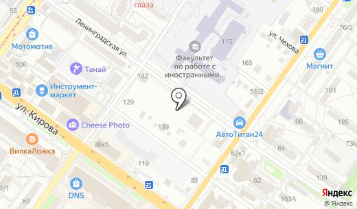 МАГ. Схема проезда в Новосибирске