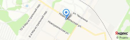 Модная Я на карте Новосибирска