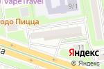 Схема проезда до компании Фантазия в Новосибирске