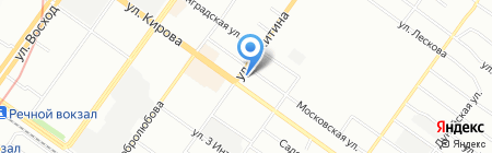 ТОНИКА на карте Новосибирска