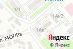 Схема проезда до компании Лик в Новосибирске