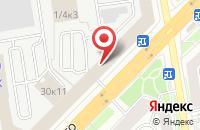 Схема проезда до компании Рост в Новосибирске