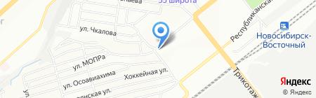 СвязьТелеКом на карте Новосибирска