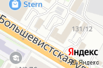 Схема проезда до компании Лялькин Базар в Новосибирске