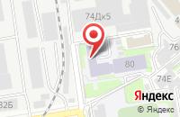 Схема проезда до компании Акрит в Новосибирске