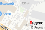 Схема проезда до компании Бумага Сервис в Новосибирске