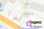 Схема проезда до компании КитРосСервис в Новосибирске