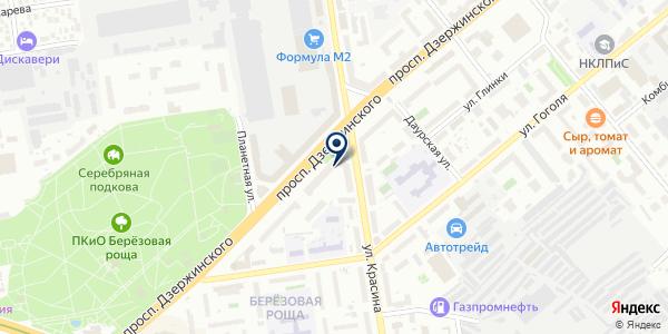 ЖЭУ №83 на карте Новосибирске