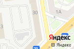Схема проезда до компании Еврошкола в Новосибирске