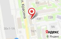 Схема проезда до компании АлИг в Новосибирске