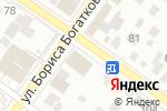 Схема проезда до компании GOLDEN ROSE в Новосибирске
