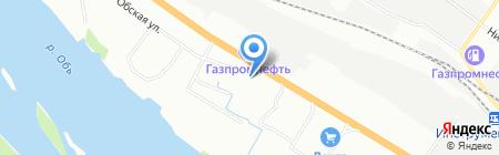 Олабитекском на карте Новосибирска