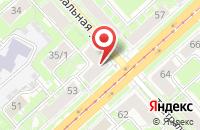 Схема проезда до компании Президент в Иваново