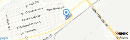555 на карте Новосибирска